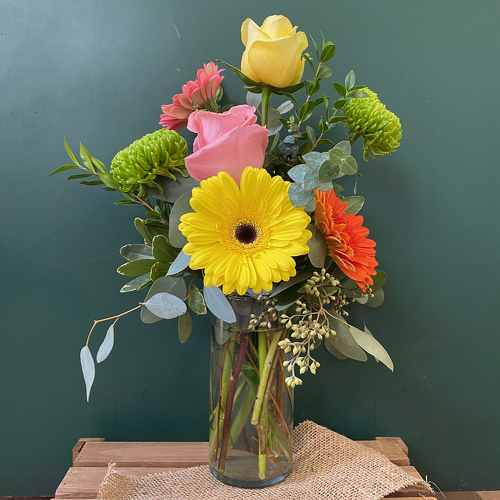 Walking On Sunshine! from Casey's Garden Shop & Florist, Bloomington Flower Shop