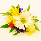 Sunny Garden Corsage from Casey's Garden Shop & Florist, Bloomington Flower Shop