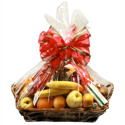 Signature Christmas Fruit Basket  from Casey's Garden Shop & Florist, Bloomington Flower Shop