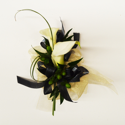 Swan Princess Corsage from Casey's Garden Shop & Florist, Bloomington Flower Shop